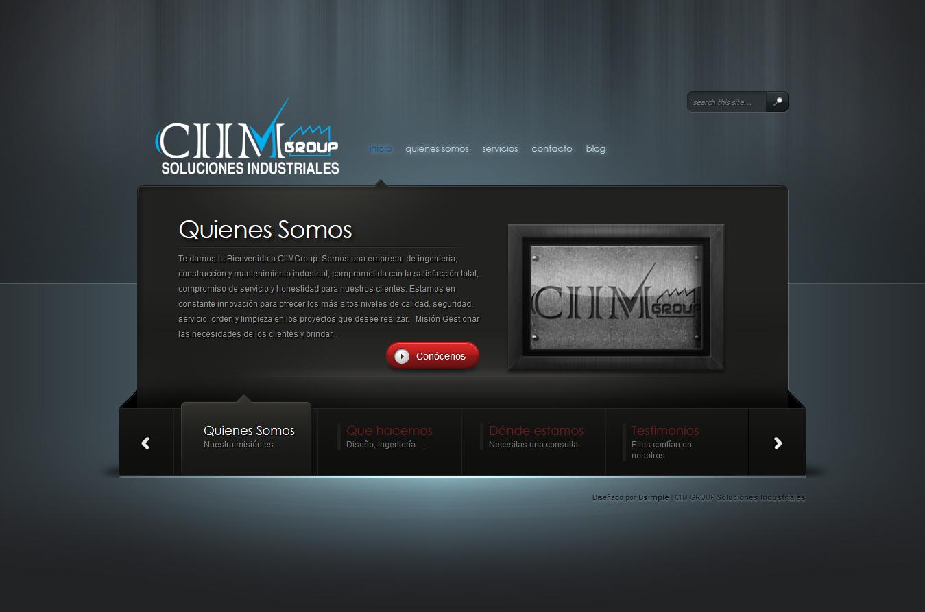 Screenshot_2018-09-27 CIIMGroup Soluciones Industriales Ingenieria, Construccion y Mantenimiento Industrial